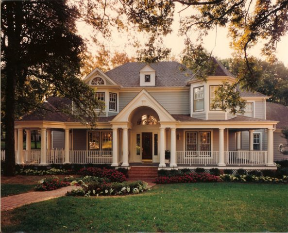 Queen Anne Victorian Home. Design By Dallas Architect, Steve Chambers,  A.I.A., Specializing Part 76