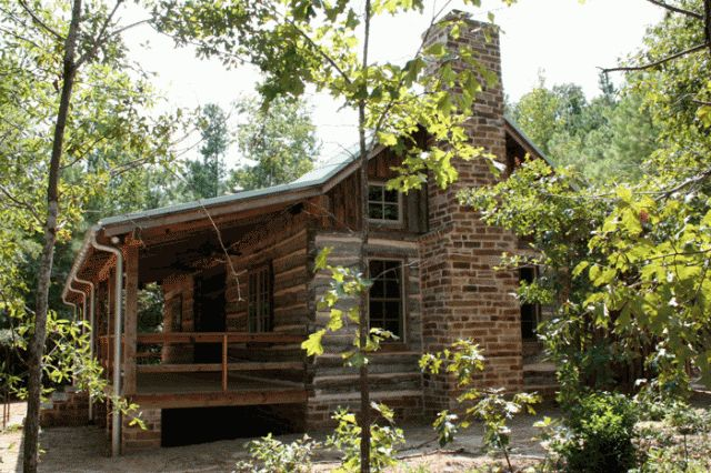 Video Case StudyHistoric Dogtrot Log Home by Stephen B  Chambers Architects. Log Cabin Homes Dallas Tx. Home Design Ideas