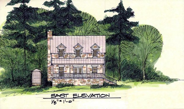 Architects Sketch, Architect's Drawing, Texas Oklahoma Residential home Homes House Architect Design