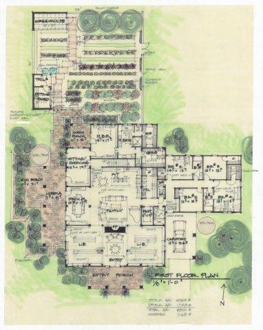 Texas, Colorado, Oklahoma Architect. Sketch, Drawing, Rendering, Plan