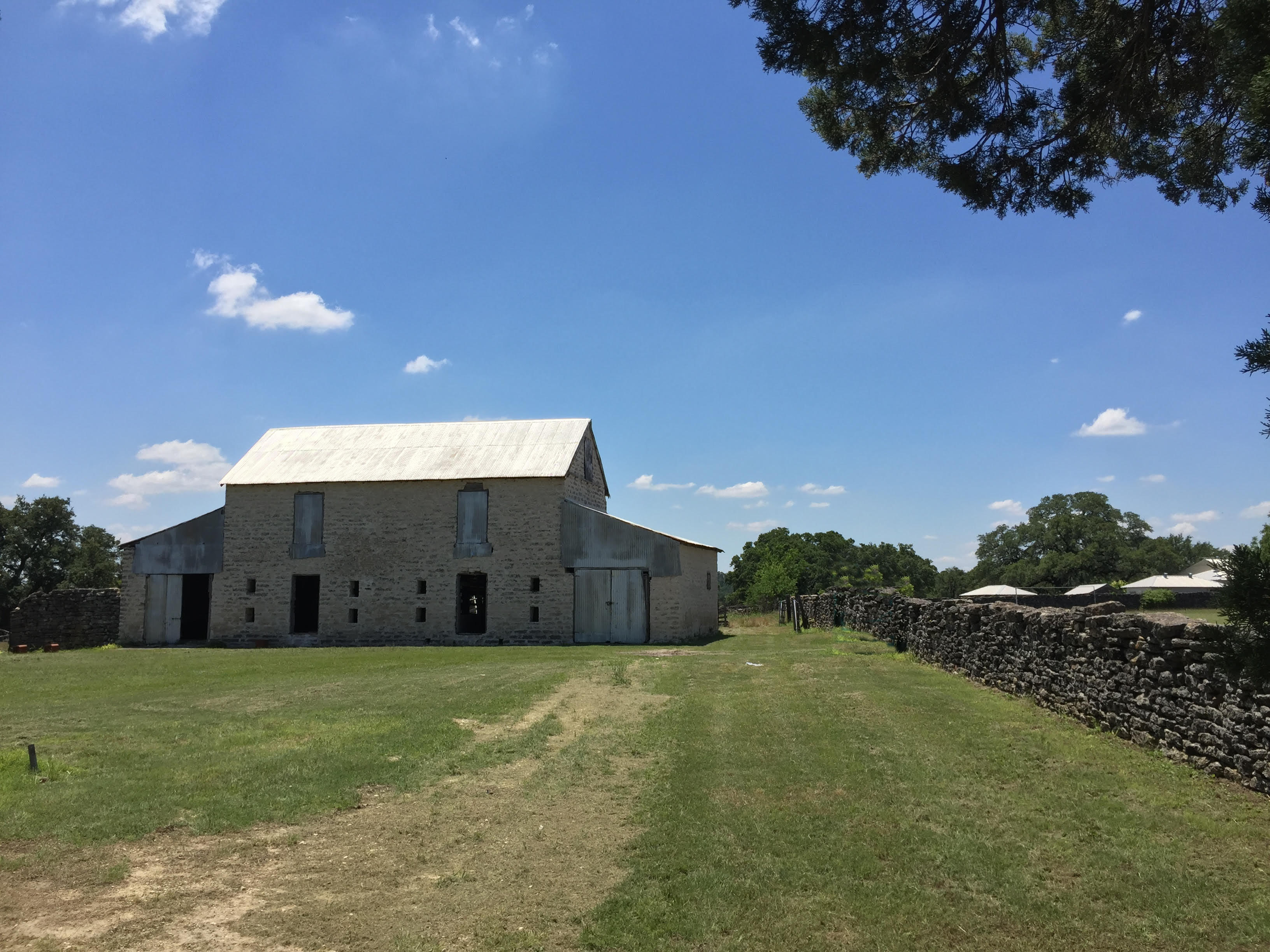 Texas Stone Barn Restoration Renovation