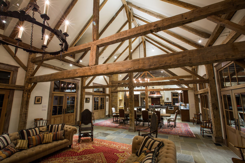 Barn Homes Old Timber Frame Barn Turned Into Ranch Home Stephen B