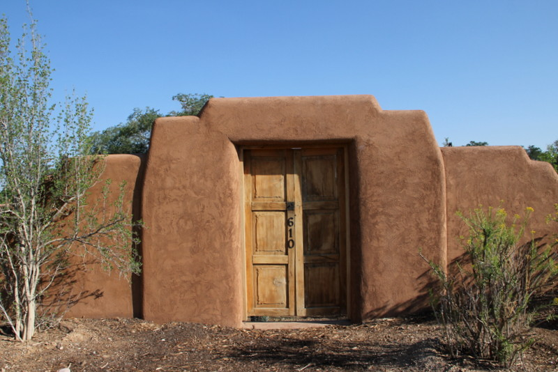 Regional architecture and preservation in santa fe nm for Territorial style house plans