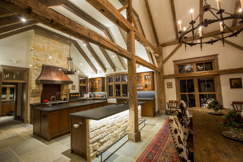Old Timber Frame Barn Converted Into Home Stephen B