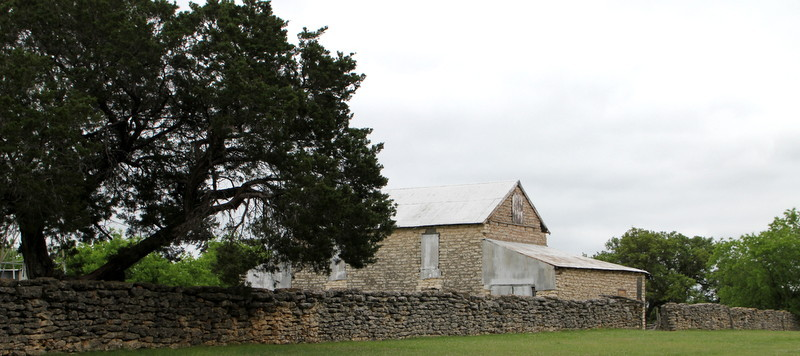 11-Historic-Texas-Stone-Barn-Early-Texas-Architecture-Dry-Stack-Stone-Walls-National-Register-of-Historic-Places-Ranch-Buildings-Dallas-Architect