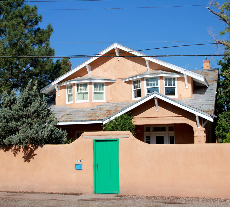 New Homes Bungalows: Regional Architecture And Preservation In Santa Fe, NM