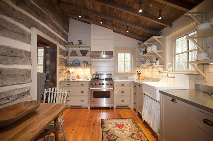 Log Home Archives. Texas Hill Country Log Cabin. Esat Texas Log Cabin. Dallas Interior Designer, Texas Rustic Ranch Interior Design, Rustic Kitchen