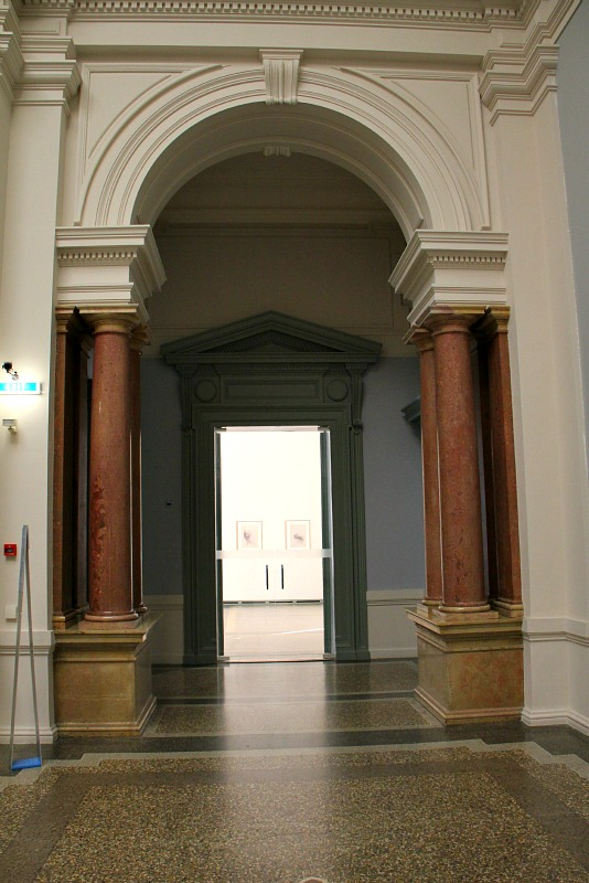 Kunst museum interior arch in Bern Switzerland Stephen B