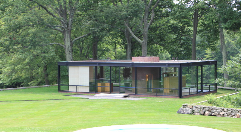 Philip Johnson Glass House architect steve chambers visits philip johnson s glass house
