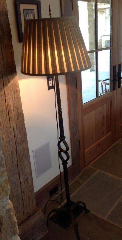 Texas, Oklahoma, Colorado Architect, Steve Chambers. Texas Custom Furniture Wrought Iron Interior Design Designer Lamp