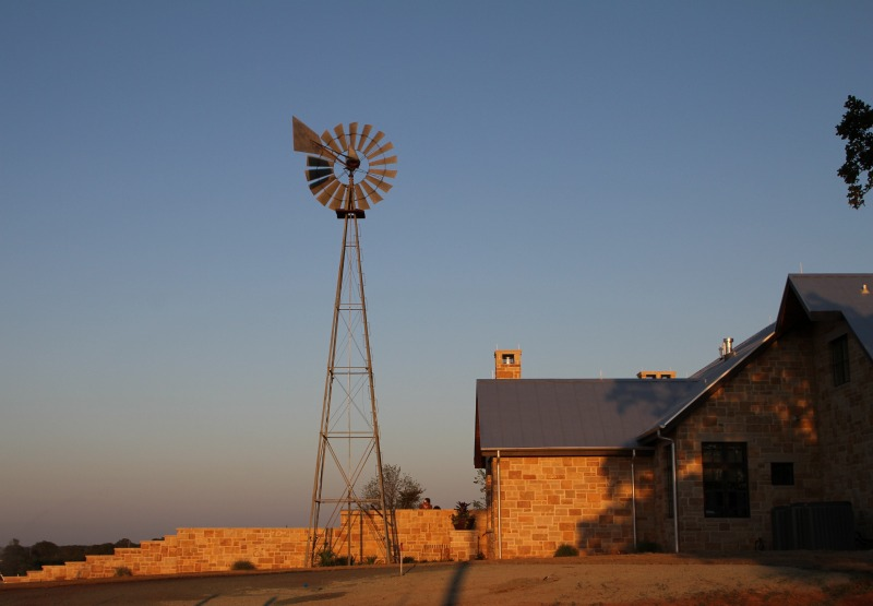 Texas Architect Steve Chambers Enlists The Windmill Wrangler
