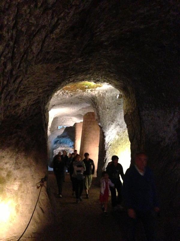 Underground Orvieto With Chambers Architects