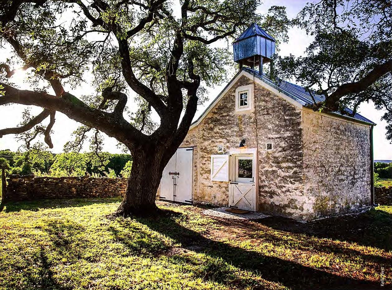 Registered Architect in Texas, Oklahoma and Colorado. Historic Preservation of Texas Ranch by Chambers Architects.