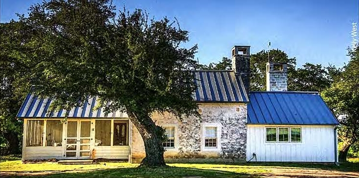 Historic Preservation of Texas Ranch by Chambers Architects.