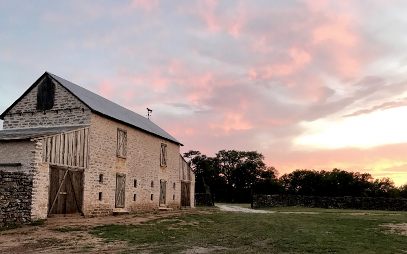 Interior Design Designer Texas stone Barn Restoration