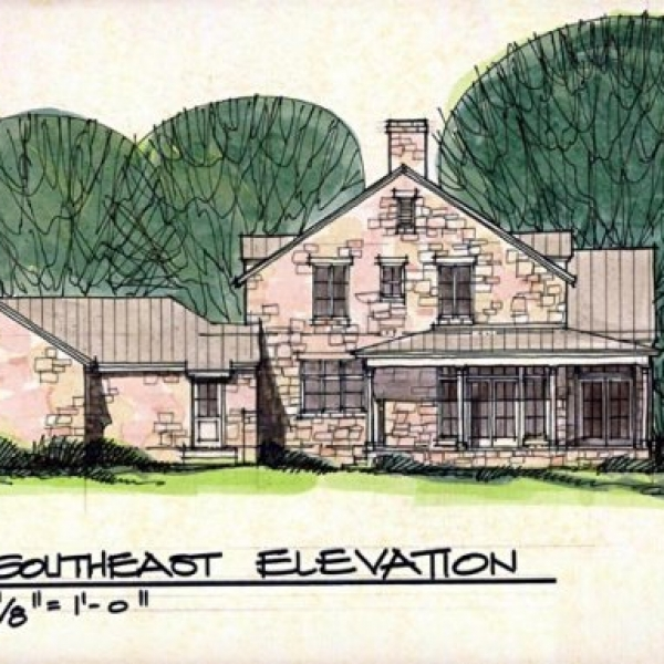 Texas Oklahoma Residential Home Homes House Architect Design. Architects  Sketch ...