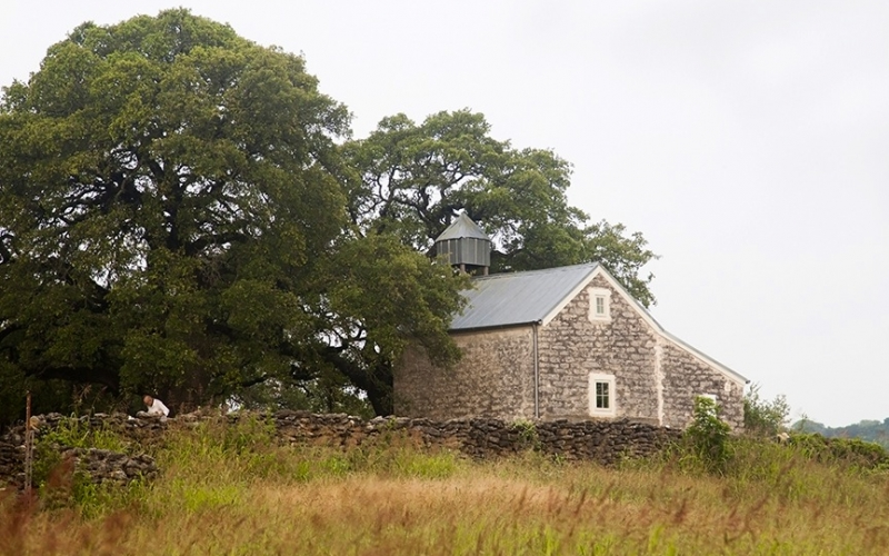 hill country texas preservation of norwegian farm house and barn