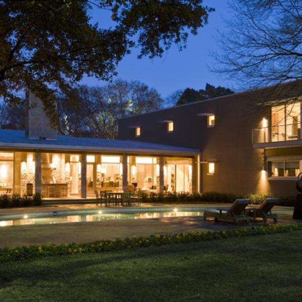 Texas Regional Modern by Stephen B Chambers Architects