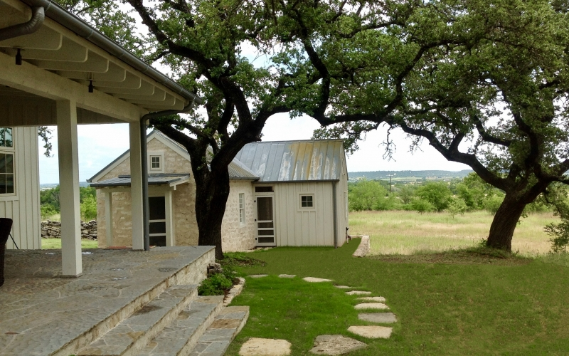 Historic Rustic Texas Ranch House Design by Texas Architect Preservation Architect Stephen B. Chambers, A.I.A. Oklahoma Architecture Firm Firms
