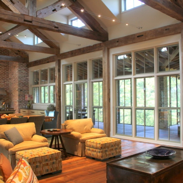 Lake Athens House by Stephen B Chambers Architects