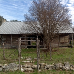 Coryell County Log Home
