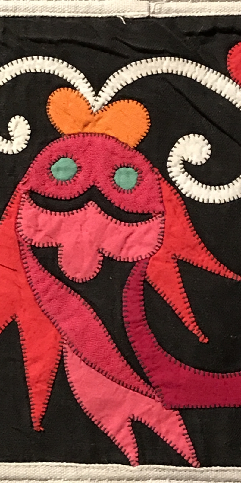 RED FISH quilt FROM southwest china
