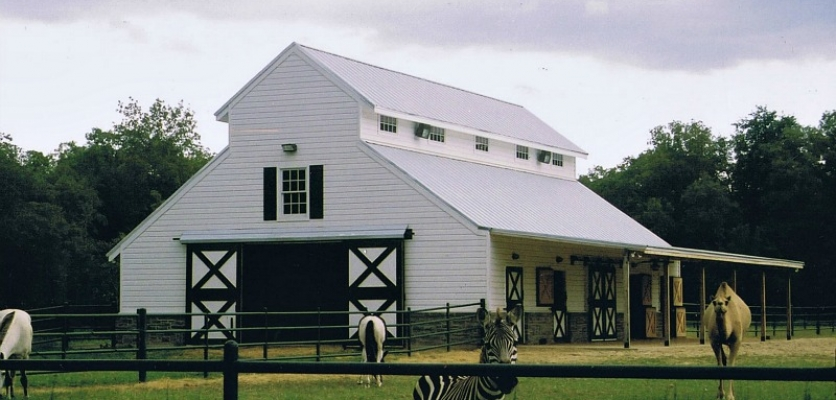 Traditional And Contemporary Basic Geometry Of Texas Barn Design