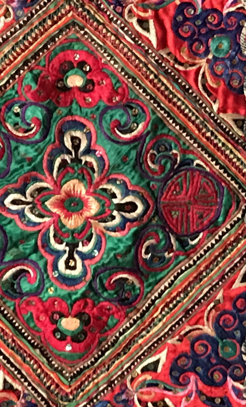 ORNATE quilt FROM southwest china