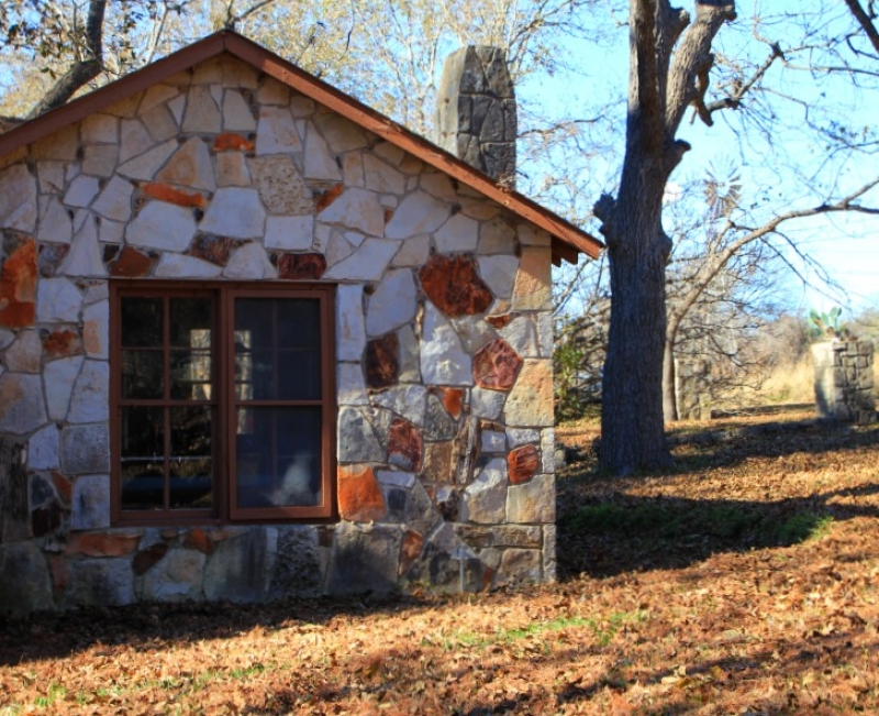 Historic stone cabins swept away in texas hill country flood for Texas hill country cabin builders
