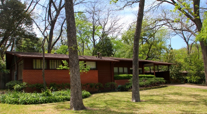 Steve chambers architect my mid century modern home in for Mid century modern residential architecture