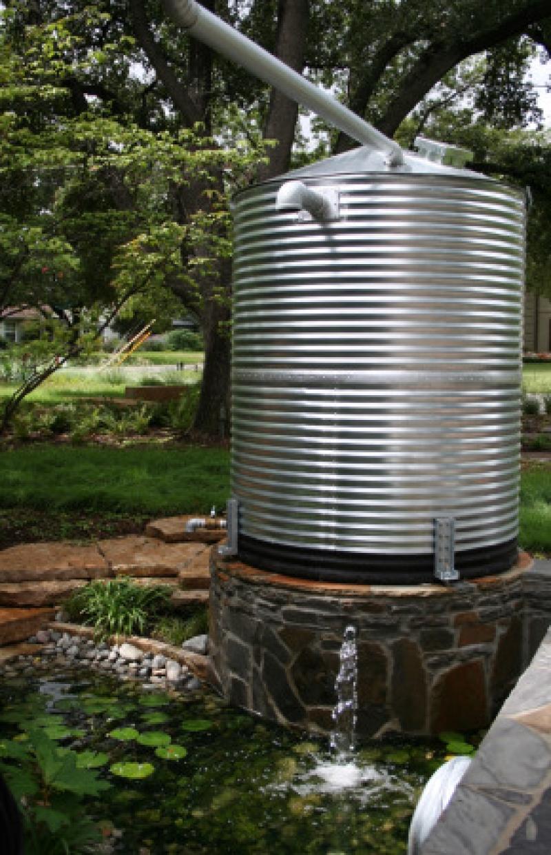 Texas, Oklahoma, Colorado Architect, Steve Chambers. Cistern, Dallas Green Architect, Dallas Sustainable Architect