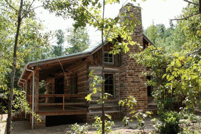 East Texas Log Cabin. Log Home Archives. Texas Oklahoma Residential home Homes House Architect Design
