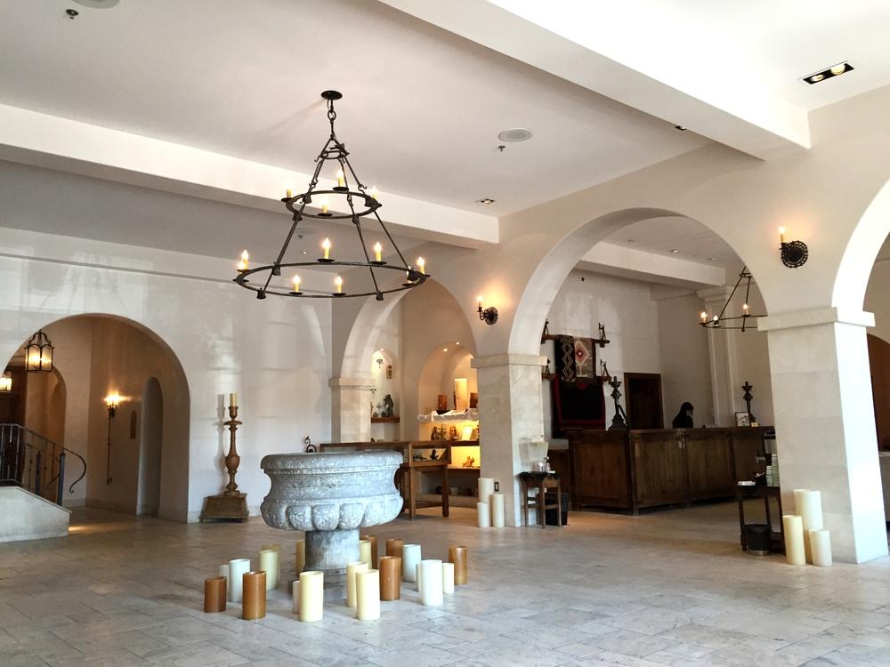 st francis Hotel lobby