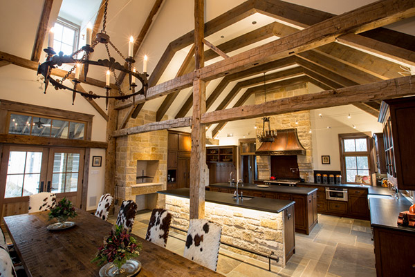 Rusitc Country Home Style. Rusitc Country Home Design. Custom Ranch Home Design. Rustic Ranch Home Design. Architecture and Interior Design by Stephen B. Chambers Architects. Barn Home Conversions, Local Residential Architects, Texas Architect, Living Room Ceiling Beams, Rustic Texas Ranch Interior Design Style