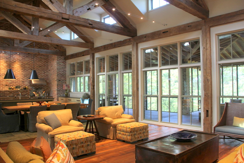 Southern Rustic Architecture, Texas Architect, Colorado Architect, Oklahoma Architect. Texas Lake House Design Ideas, Texas Lakehouse Design Ideas, Dallas Interior Designers, Dallas Residential Architecture Firms, Dallas Residential Architecture Firm, Cable Lighting, Architecture Firms, Dallas Texas, Timber Ceiling Beams, Lake Home House Texas Oklahoma Architect Architecture Firm