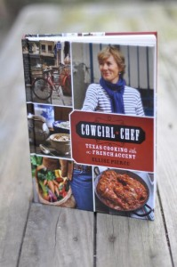 Recipes for cooking 'Texas' in French, stories about living and eating in Paris are in the recently published book.