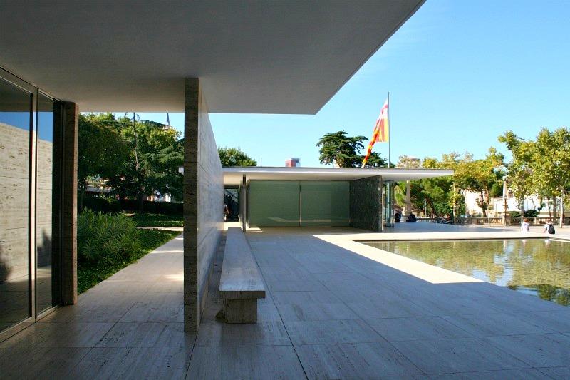 Mies Van De Rohe 1929 Barcelona Pavilion