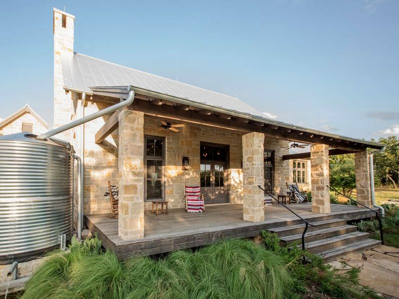 Texas, Colorado, Oklahoma Registered Architect, AIA. Rustic Ranch House Design,