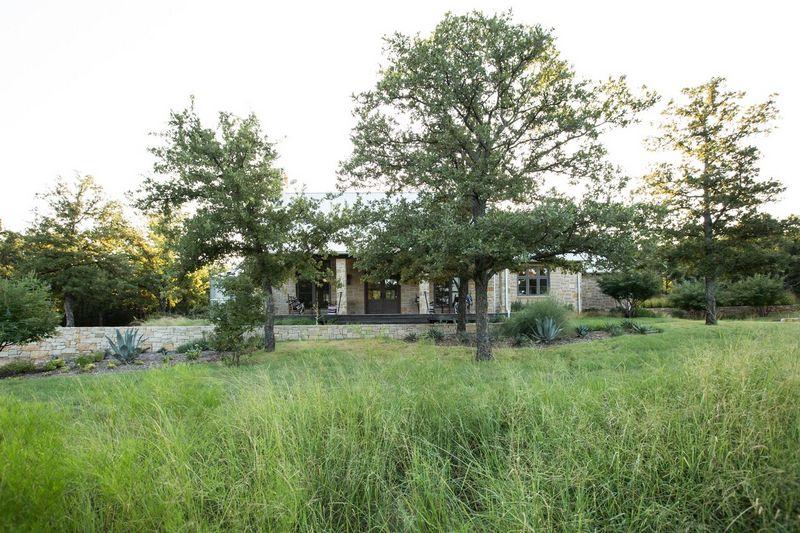 Texas, Oklahoma Architect. Rustic Ranch House Design,