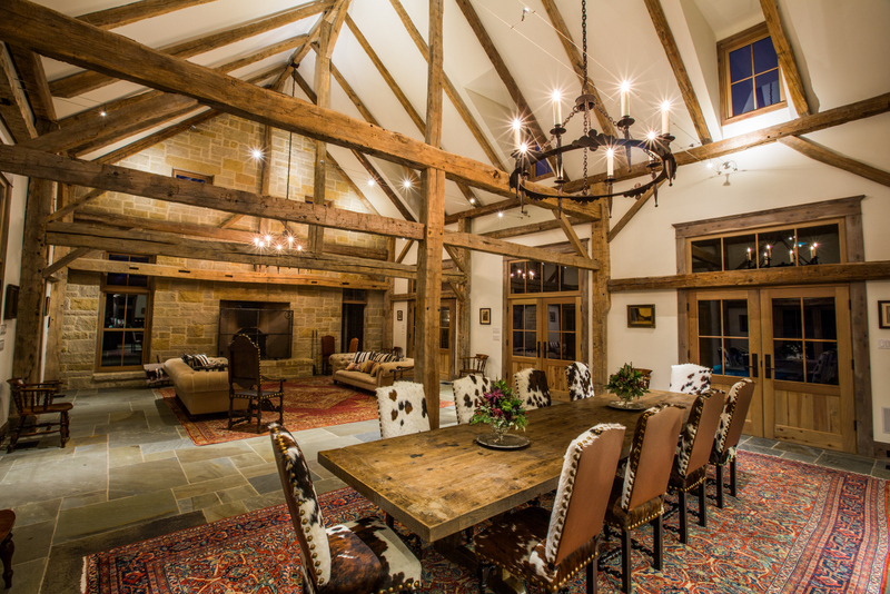 Timber Frame Ranch House, Best Texas Ranch Architects, Rustic Country Home Style. Rustic Country Home Decorating Ideas. Timber Frame Home Design. Timber Frame Home Style. Texas, Colorado, Oklahoma Registered Architect, AIA. Rustic Ranch House Design, Dallas Architect, Texas Ranch Homes, Home, Living Room Ceiling Beams