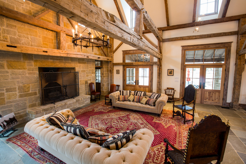 Timber Frame Ranch House, Rustic Country Home Style. Rustic Country Home Decorating Ideas. Timber Frame Home Design. Timber Frame Home Style. Texas, Colorado, Oklahoma Architect. Rustic Ranch House Design,