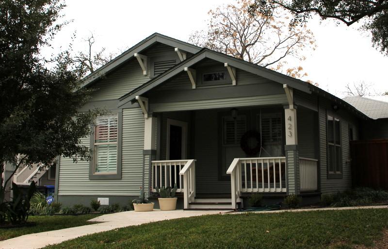 Arts & Crafts, Texas architect. Oklahoma architect.