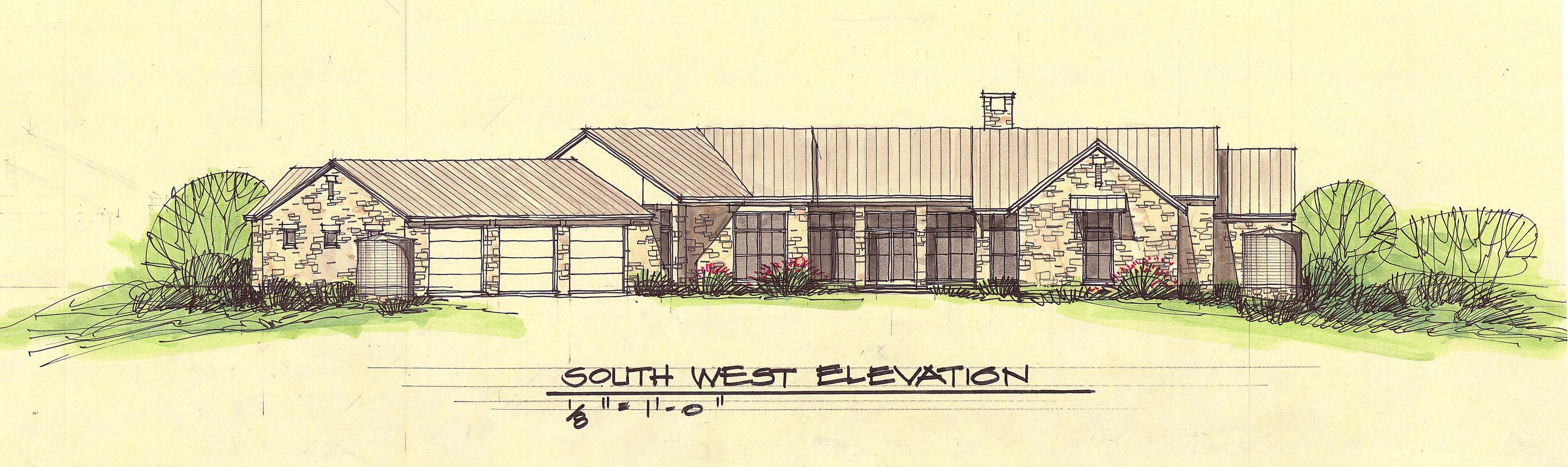 Southwest Elevation