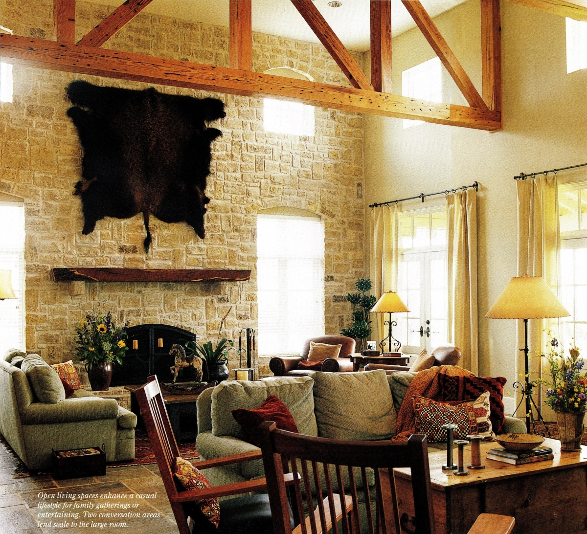 Texas Hill Country Living, Texas Hill Country Design, Texas Hill Country Home, Texas Ranch Home Design Ideas, Mike McKool Ranch, Texas Home Architect, Texas Hill Country Homes, Texas Hill Country Home Ideas,Texas Hill Country Family Room, Texas Family Room, Family Room, Ranch Family Room, Hill Country Family Room, Texas Hill Country Living Room