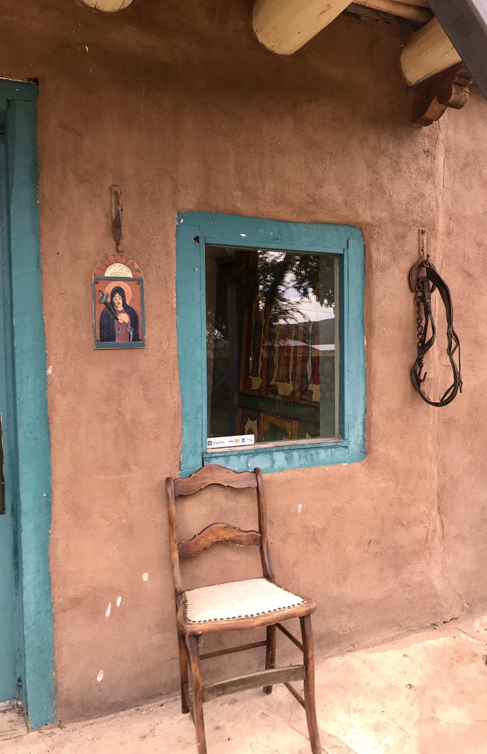 Outsider Art in Interior Design, New Mexico Folk Art in Interior Design.