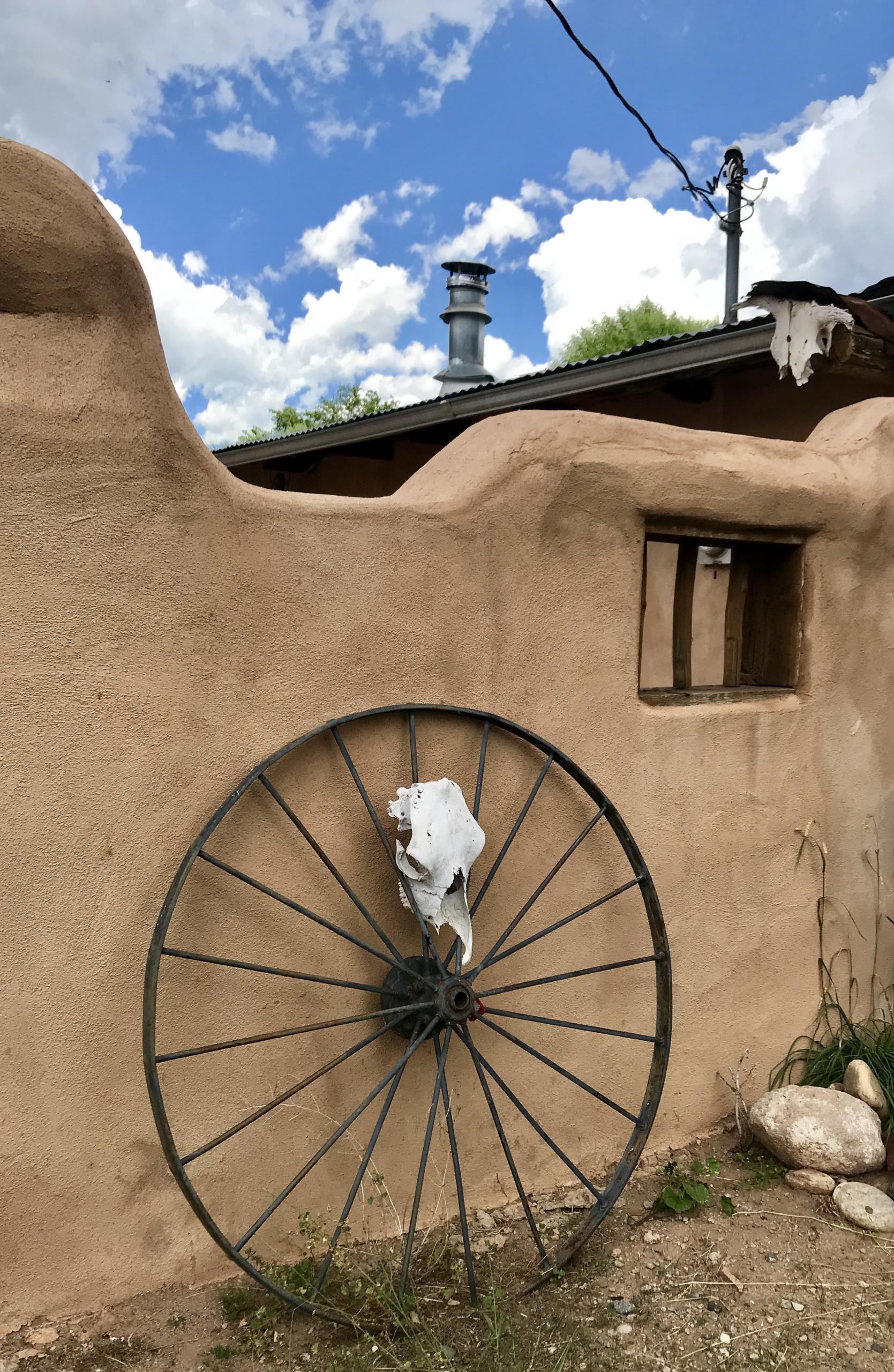 Outsider Art in Interior Design, New Mexico Folk Art in Interior Design, Santeros in Interior Design.