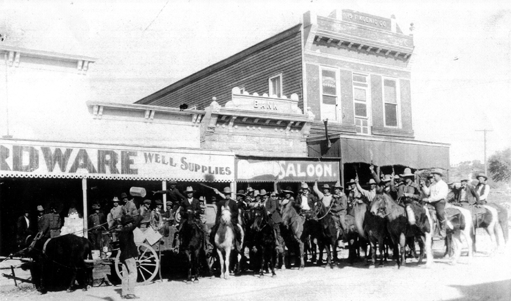 Historic Texas Photo, Photography, Sonora Texas Cowboys
