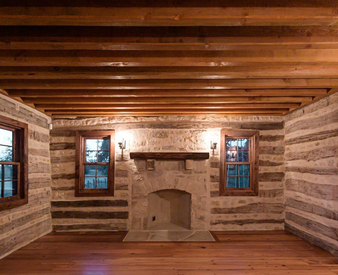 Antique Log Home Architect, Antique Log Homes, Texas Ranch Homes, Historic Texas Ranch Homes, Best Ranch Designs in Texas, Texas Ranch Architects, Best Ranch Home Architects, Early Texas Log Homes, Early Texas Log Cabins, Log Home Interiors