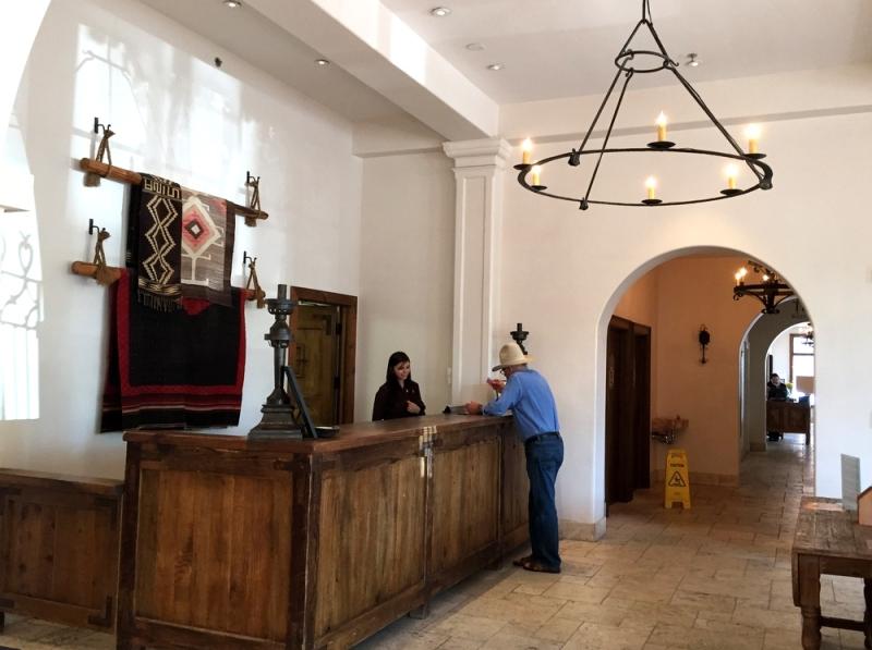 st francis hotel reception