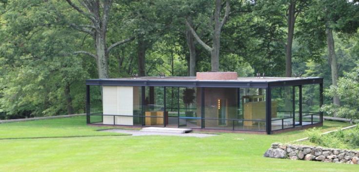 Architect Steve Chambers Visits Philip Johnson S Glass House